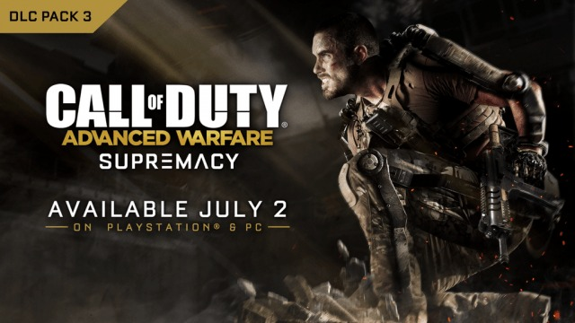 CoD:AW:リメイクマップを含む第3弾DLC「Supremacy」、7/2に配信決定(PS4/PS3/PC)