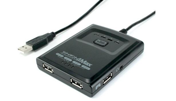 FPSに最適:PS4/PS3でマウス&キーボードが使える「ツナイデント4 MAX」間もなく発売(振動機能付き)