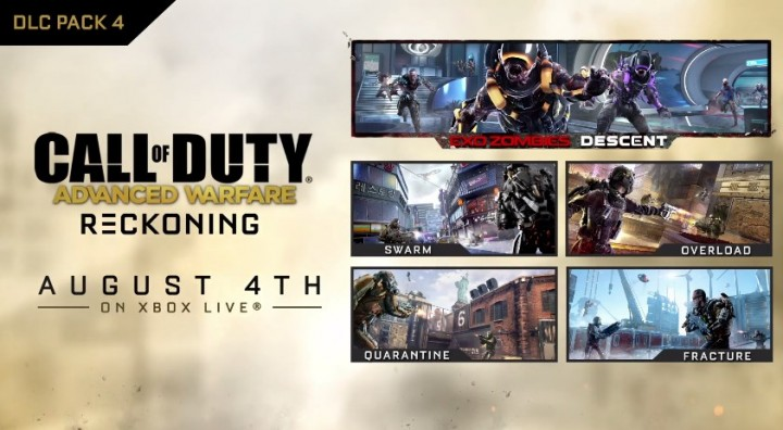 "CoD:AW:第4弾DLC""Reckoning""配信開始。パッチサイズは3.7GB (Xbox)"