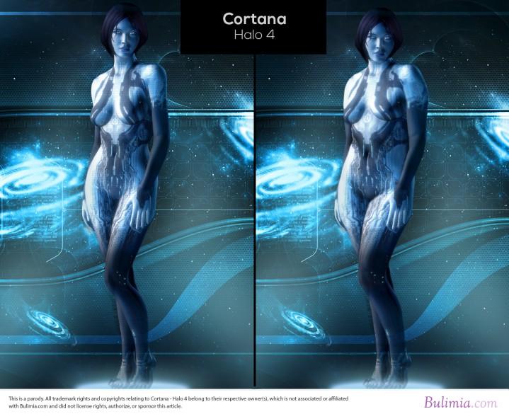 コルタナ - ヘイロー4Cortana-Halo-4_compressed