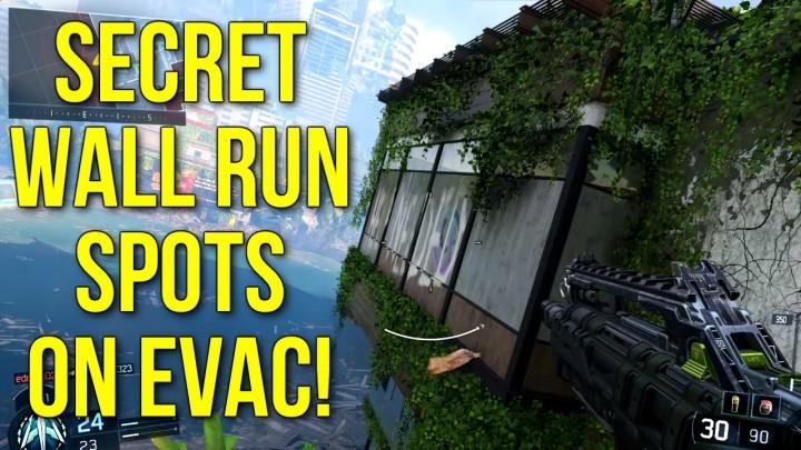 CoD:BO3:「え?こんなところも?」と思わせる壁走り解説動画 Evac編