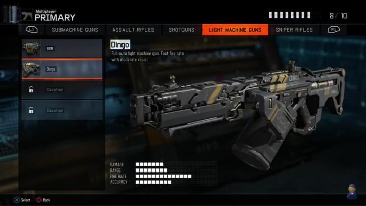gamescom 2015   CoD:BO3:新たな4種のプライマリ武器判明、M8の後継銃も