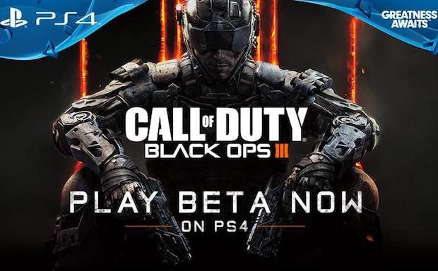 CoD:BO3:PS4ベータ版の配布終了へ、プレイは「8月25日14時頃」まで可能