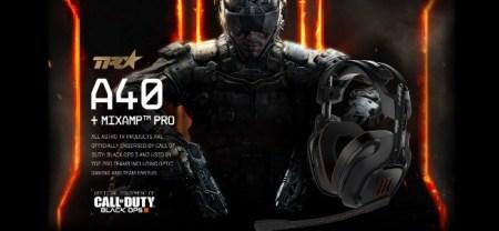 CoD:BO3:ASTRO Gamingのヘッドセットが公式に認定、BO3のモッドキットも