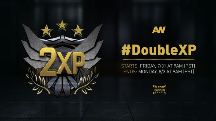 "CoD:AW:ダブルXPが本日開催、第4弾DLC""Reckoning""リリース記念"