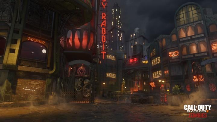 "CoD:BO3:史上最大のゾンビマップ""Shadows of Evil""、電車や運河など様々な移動方法を用意"