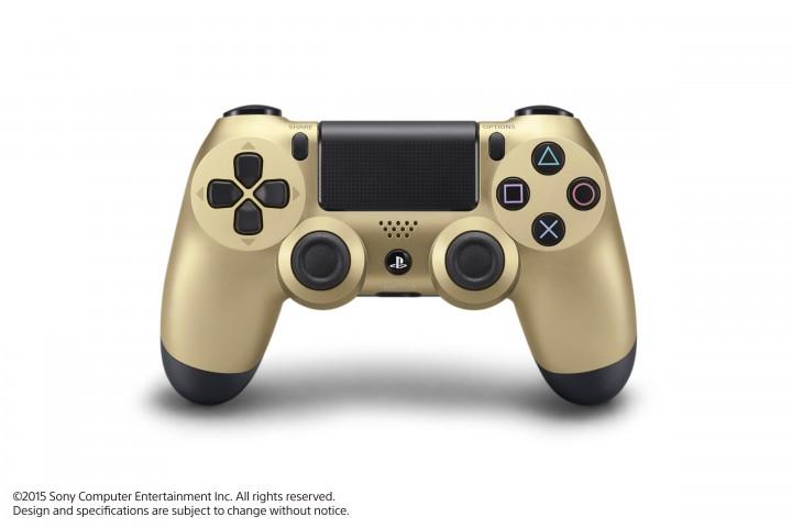 PS4:4種の新色コントローラーが11月6日より発売、ゴールドやシルバー、透明のクリスタルなど
