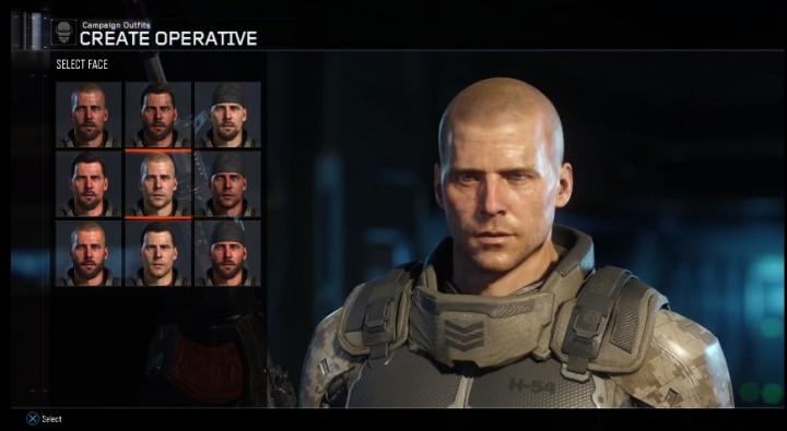 『CoD:BO3』ではキャンペーンでキャラクター作成が可能に