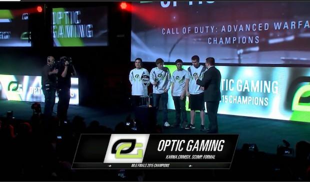 CoD:AW:「MLG FINAL 2015」優勝はOpTic Gaming! 1200万円を獲得