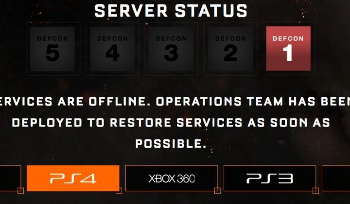 PS4版『CoD:BO3』のサーバーダウン、完全にオフラインに(追記)