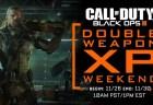 CoD:BO3:やはりダブル武器XPウィークエンドが開催