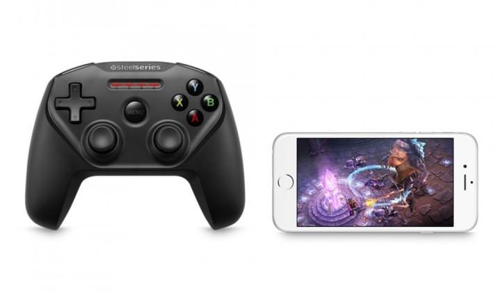 Apple、「Apple TV」と「iPhone」向けのワイヤレスゲームコントローラー発売開始