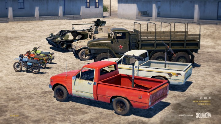 Squad-vehicles