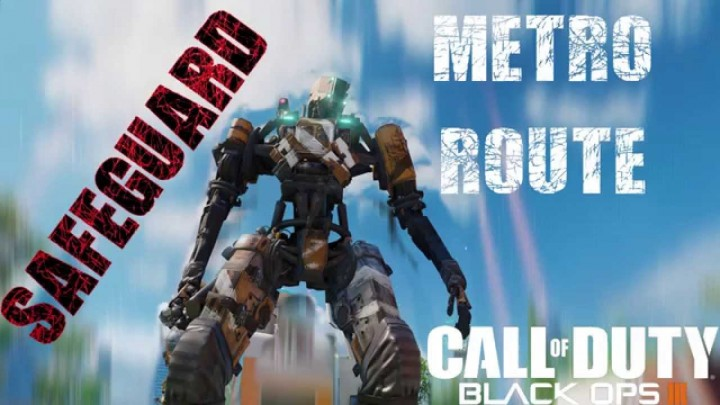 CoD:BO3:ゲームモード「セーフガード」のロボット移動ルート(全13マップ)
