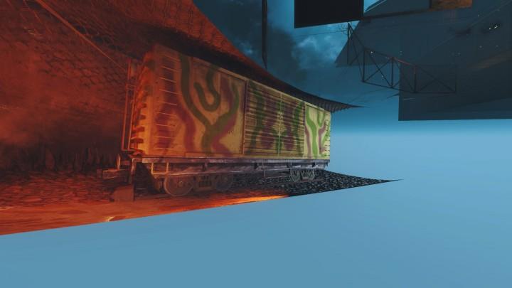「The Giant」内で確認できる列車