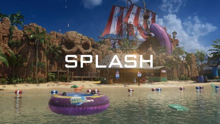 CoD:BO3:鮮やかな色彩が特徴の新マップ「スプラッシュ」の公式プレビュー映像