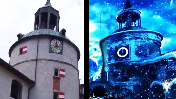 "CoD:BO3:新ゾンビマップ""Der Eisendrache""の城は実在する城と「完全に一致」"