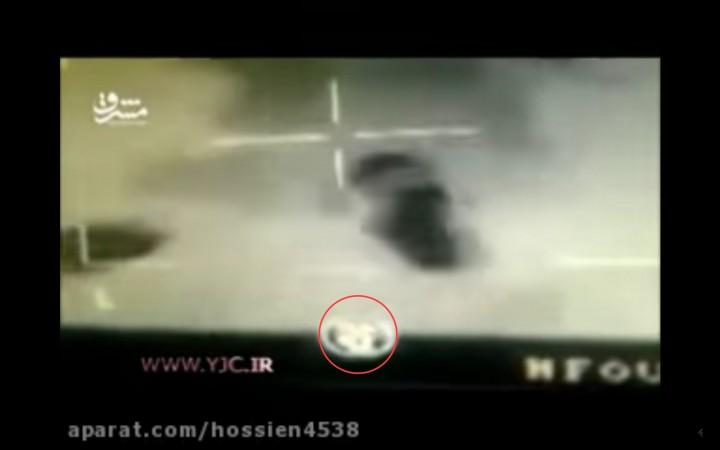 イラン国営放送が放送した動画
