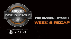 CoD:BO3:CWLステージ1 第6週の全試合動画公開、ファイナルや入れ替え戦の情報も