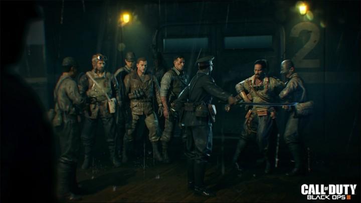 CoD:BO3:第2弾DLCのゾンビモード公式画像公開、日本軍に囚われた4人?