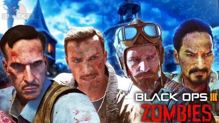 CoD:BO3:ゾンビマップ内で交わされる、4人のやりとりからストーリを紐解くカギ発見
