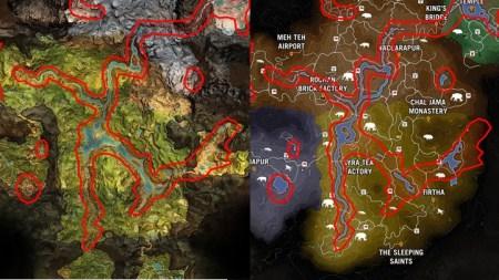 『ファークライ プライマル』と『ファークライ 4』のマップが酷似 、「手抜き?」と熱い議論に