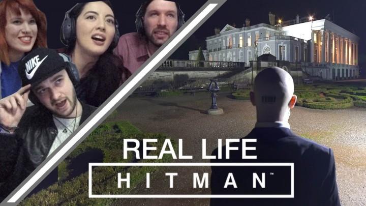 伝説の殺し屋をリアル操作、『HITMAN』を現実のゲームとしてプレイする映像