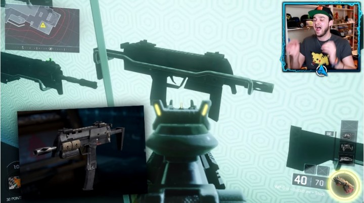 CoD:BO3:新武器?ディスプレイ?マップ内にM27、MP7、レミントンなど発見