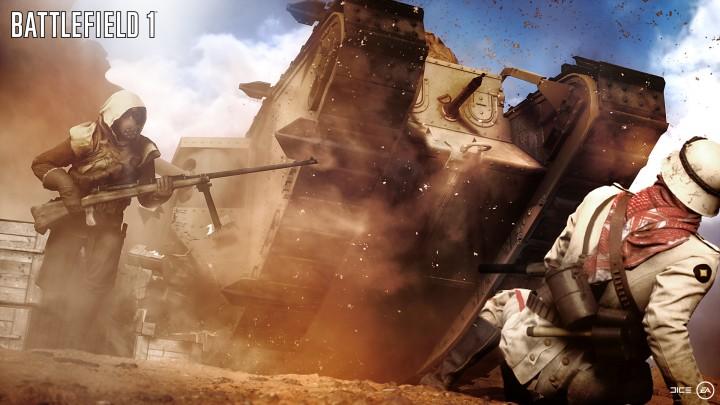 """BF1:『バトルフィールド 1』 の""""ゲームプレイ映像""""が6/12に初披露、EA Playにて"""