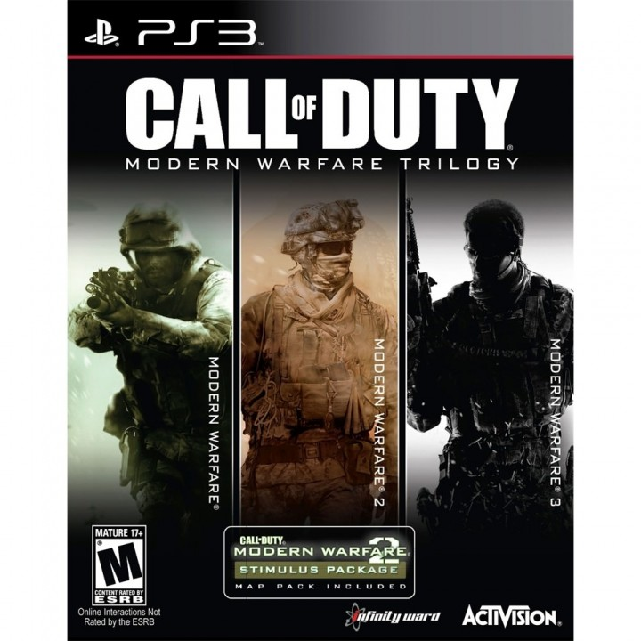 Call of Duty Modern Warfare Trilogy-PS3