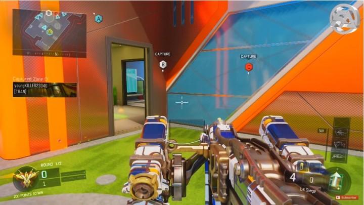 CoD:BO3:4種の新武器、アサルトライフル、ランチャー、消防斧、メイスや新装備などが追加