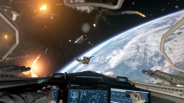 CoD:IW:プレイヤー専用の宇宙戦闘機「Jackal」、キャンペーンのミッション遂行やカスタマイズ可能
