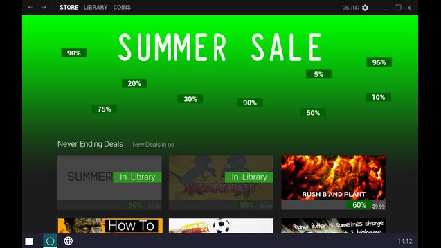 「Steamサマーセール」がゲーム化、365日サマーセールやり放題