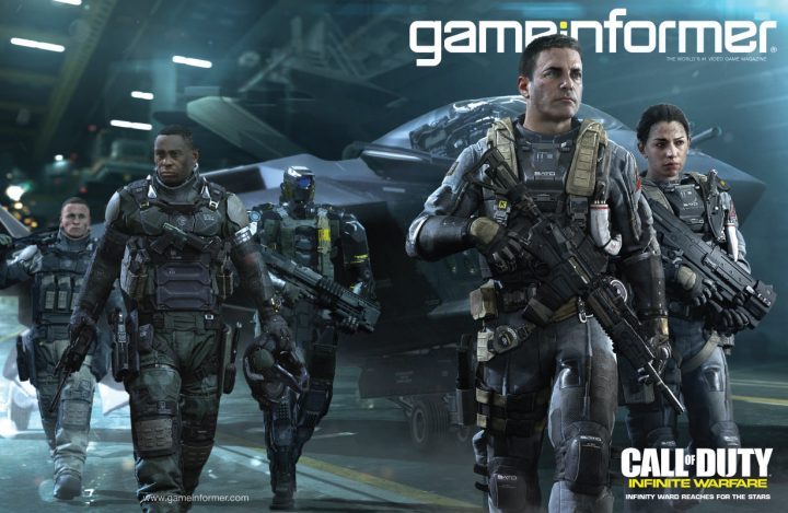 CoD:IW:GameInformer 7月号は『コール オブ デューティ インフィニット・ウォーフェア』特集、新イメージ公開