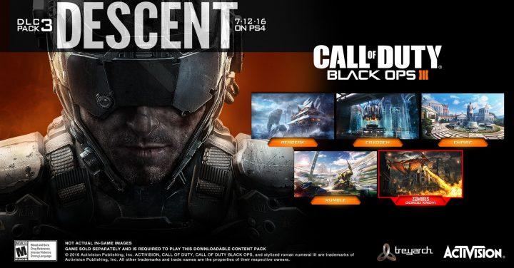 """CoD:BO3:国内でも第3弾DLC""""Descent""""配信開始、カスタムテーマは15日から"""