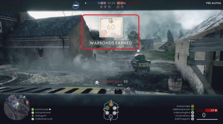 BF1:ゲーム内通貨「War Bonds(戦時公債)」確認。アンロックは『BFH』方式に?