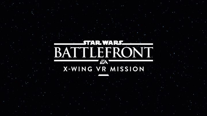 PS VR専用SWBF:『Star Wars バトルフロント: X-Wing VR Mission』発表、2016年ホリデーシーズンに無料配信