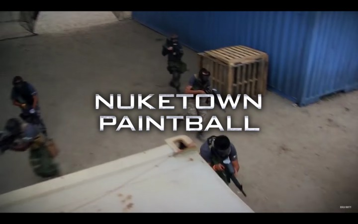 Nuk3townペイントボール
