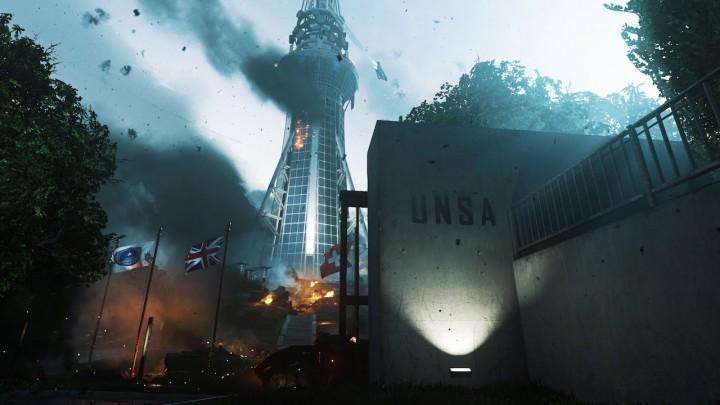 """CoD:IW:オープニングミッション""""Black Sky""""のゲームプレイ映像公開(約13分)"""