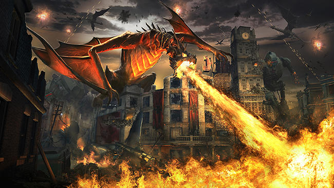 CoD:BO3』の最新ダウンロードコンテンツ「コール オブ デューティ ブラックオプス III Descent DLC」には、『コール オブ デューティ ブラックオプスII』の人気マップ「Raid」をリメイクした「Empire」を含む、 4つの新しいマルチプレイヤーマップと、ゾンビモード用追加マップ「Gorod Krovi」が含まれます。