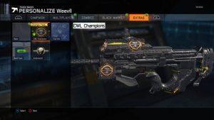 CoD:BO3:CWL仕様の武器迷彩とコーリングカード発売開始(PS4,X1)