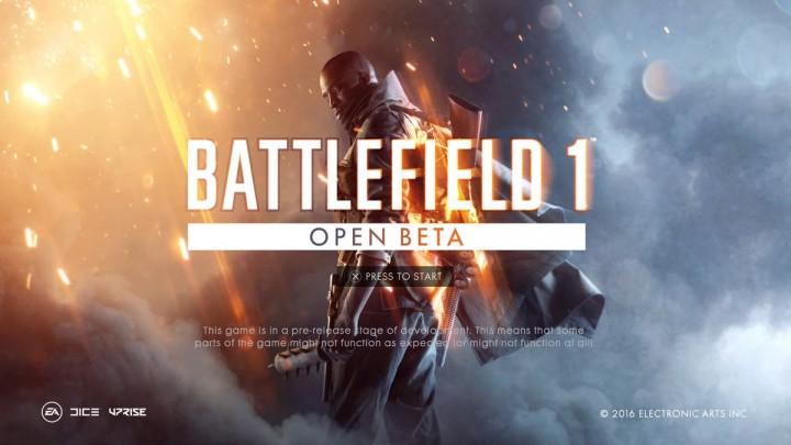BF1:『バトルフィールド 1』のオープンベータ開始、誰でも参加可能に