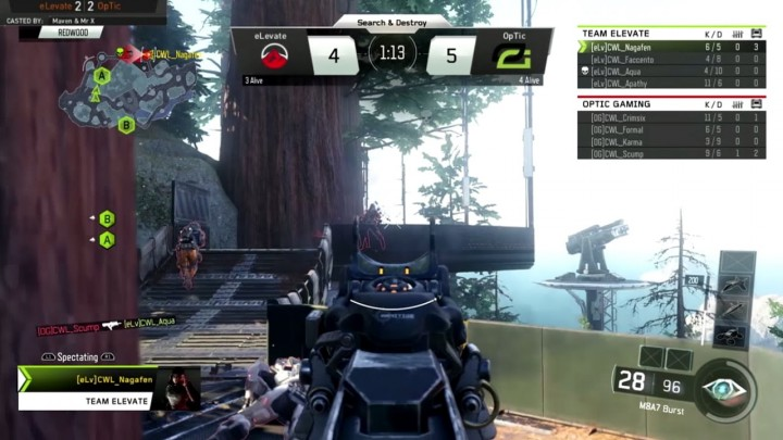 CoD:BO3:公式リーグ「The Call of Duty World League」の年間トップ10プレイ映像公開!