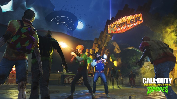 CoD:IW:ゾンビモード「Zombies in Spaceland」のお披露目トレーラー公開