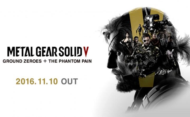 MGSV全部入り:『TPP』+『Ground Zeroes』+全DLCパックが11月10日発売、価格は3,980円
