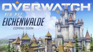 オーバーウォッチ:ドイツの古城が舞台の新マップ「Eichenwalde」発表、プレビュー映像も