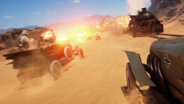 BF1:ベータ版からの変更点発表、軽戦車と馬弱体化、アンチビークル早期開放など