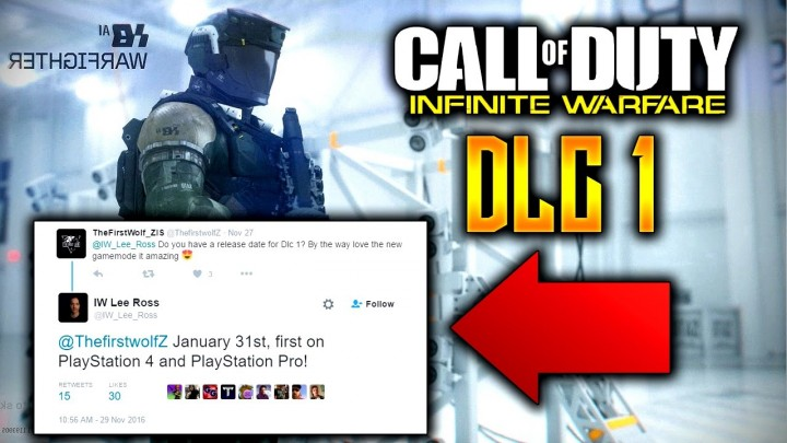 噂:『CoD:IW』第1弾DLCは1月31日にPS4  / PS4 Proへ先行リリース?