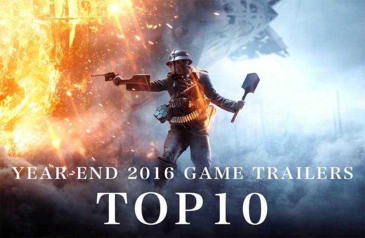 YouTube:2016年のゲームトレーラー再生数TOP10発表、栄えある1位はあのFPS