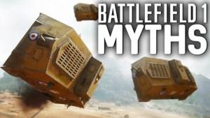 BF1:噂検証シリーズ第6弾「横転した戦車は宙に浮かぶ?」「置き土産グレネードはできる?」など